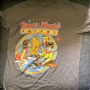 Devil music shirt